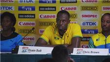 Bolt happy to back to 'full health'