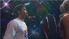 Mayweather and Pacquiao weigh in for fight