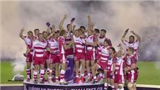 Gloucester lift Challenge Cup following tense finish