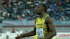 Bolt beaten in World Relays