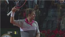 Nadal crashes out of Italian Open losing to Wawrinka