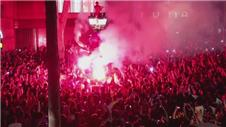 Barcelona celebrates La Liga win