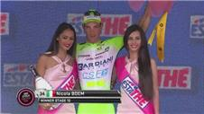 Nicola Boem wins stage ten of the Giro d'Italia