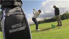 Manassero upbeat before PGA