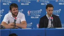I need a beer to watch Steph Curry - Bogut