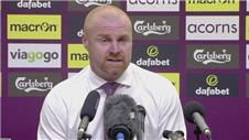 "Dyche: ""Ive been very proud of the players"""
