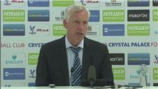 "Pardew: ""Our record is phenomenal"""