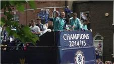 Chelsea stage title parade