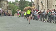 MUST WATCH: World Woolsack Racing Championships