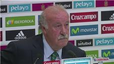 Del Bosque names Spain squad