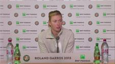 Stosur and Sharapova react to French Open wins