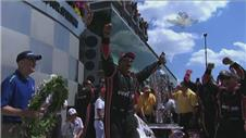 Montoya discusses Indy 500 success