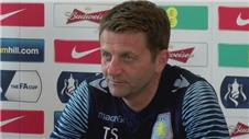Sherwood excited ahead of FA Cup final