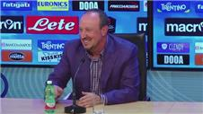 Benitez says goodbye to Napoli and hints at future