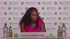 Serena admits she must improve to progress further