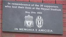 Liverpool remember the 39 lost at Heysel
