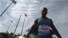 Gatlin runs fastest 200m of 2015