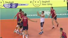 Volleyball: USA edge Poland in five sets