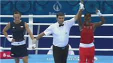 Adams and Scott win gold for GB in Baku