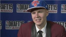 Porzingis: Knicks NBA draft pleasing