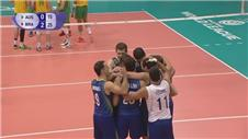 Brazil defeat Australia in the Volleyball World League