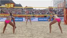 Beach Volleyball: Double delight for USA