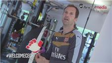 Cech excited by move to Arsenal