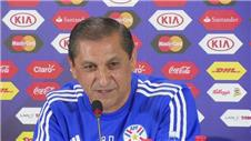 Diaz not surprised Paraguay have been underestimated