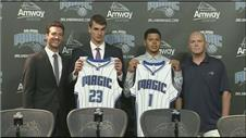 Orlando Magic show off passionate, intense new signing