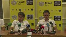 Contador to ride with Sagan...and a canary