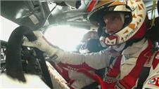 Meeke crashes in Rally Poland practice