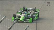 Sebastien Bourdais wins the ABC Supply Wisconsin 250