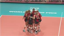 USA's unbeaten run contunues in Volleyball World Grand Prix