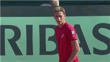 Belgium into Davis Cup semis after Bemelmans and Coppejans victory