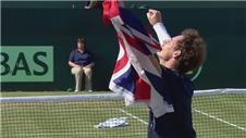 Andy Murray defeats Gilles Simon to sent Great Britain into Davis Cup semi-finals
