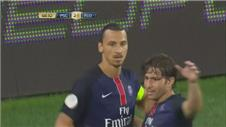 PSG put four past Fiorentina