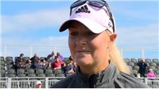Womens British Open: conditions tough - Nordqvist