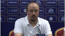 Benitez pleased by results in China friendlies