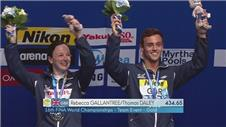 Daley and Gallantree win gold for GB