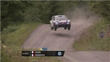 Ogier continues to lead in the Rally