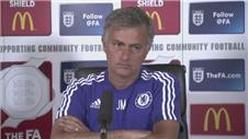 Mourinho wont be drawn in on transfer speculation ahead of Community Shield
