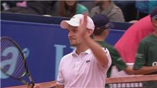 Goffin sweeps aside Belluci for place in Gstaad Open final