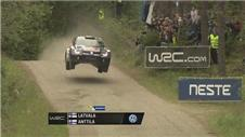 Latvala leads the way following morning stages of Rally Finland