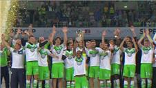 Wolfsburg beat Bayern on penalties to win German Super Cup