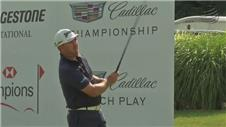 Graeme McDowell one shot off World Golf Championships lead