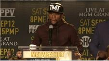 Floyd Mayweather on Berto fight: He's gonna push me