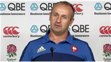 Englands Burgess dangerous - France coach