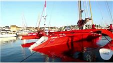 Guo Chuans sailing world record trip underway