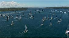 WORLD'S LONGEST OCEAN RACE HEADS FOR LONDON START