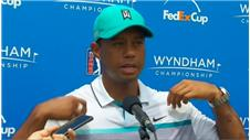 Woods reacts to his best round in over two years